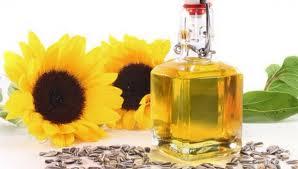 Ulei de floarea soarelui presat la rece